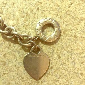 Tiffany toggle heart necklace